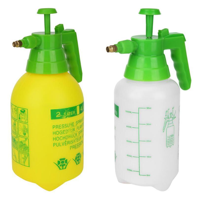 1L Portable Hand Pump Pressure Water Sprayer Bottle Garden Plant Flower Watering
