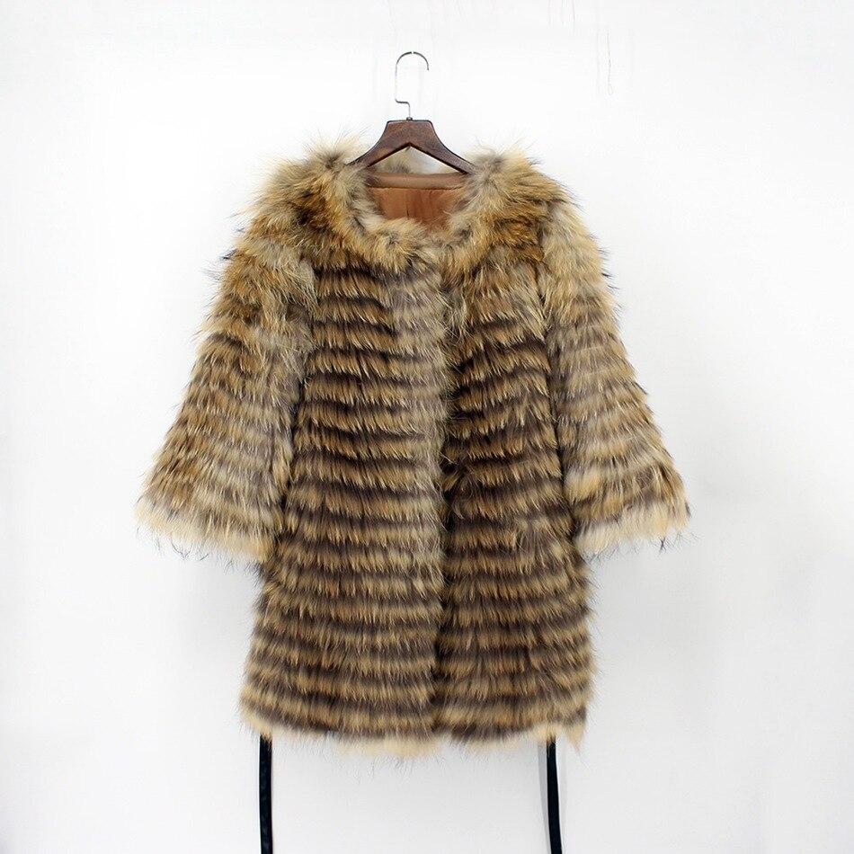 genuine raccoon fur coat (3)