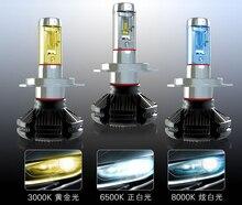 2 шт. led h7 h4 H3 H8 H9 H11 H13 9004 9005 hb3 9006 hb4 9012 60 Вт 6000lm 12 В x3 H1 лампа автомобиль лампы Противотуманные фары гарантия 24 месяца