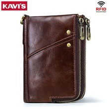 Genuine Leather Men Wallet Model 9