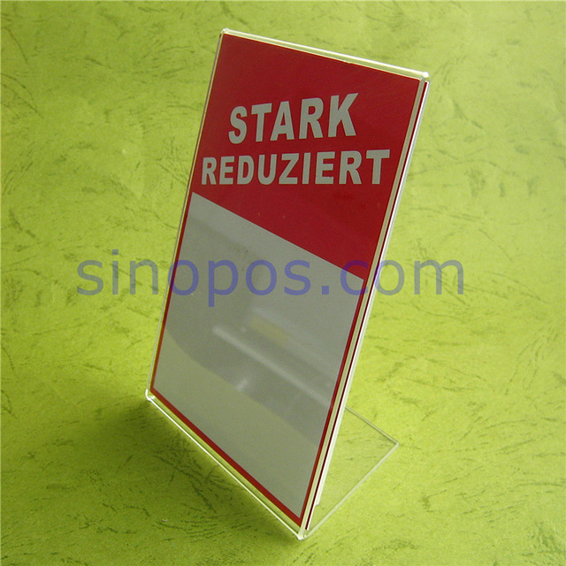 Online Shop Acrylic Picture Frame A4 Vertical Horizontal Clear