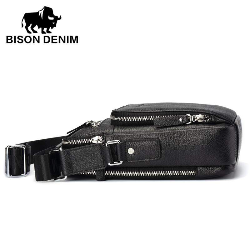 bison denim 2017 dos homens Color : Black Brown