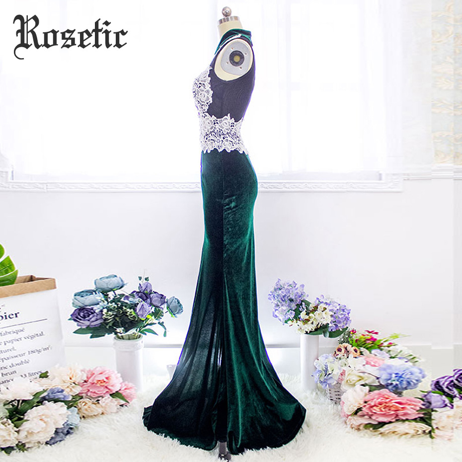 Rosetic Gothic Vintage Cheongsam Mermaid Dress Maxi Sheath Lace Patchwork Elegant Party Slim Women Summer Gift Retro Long Dress by Rosetic