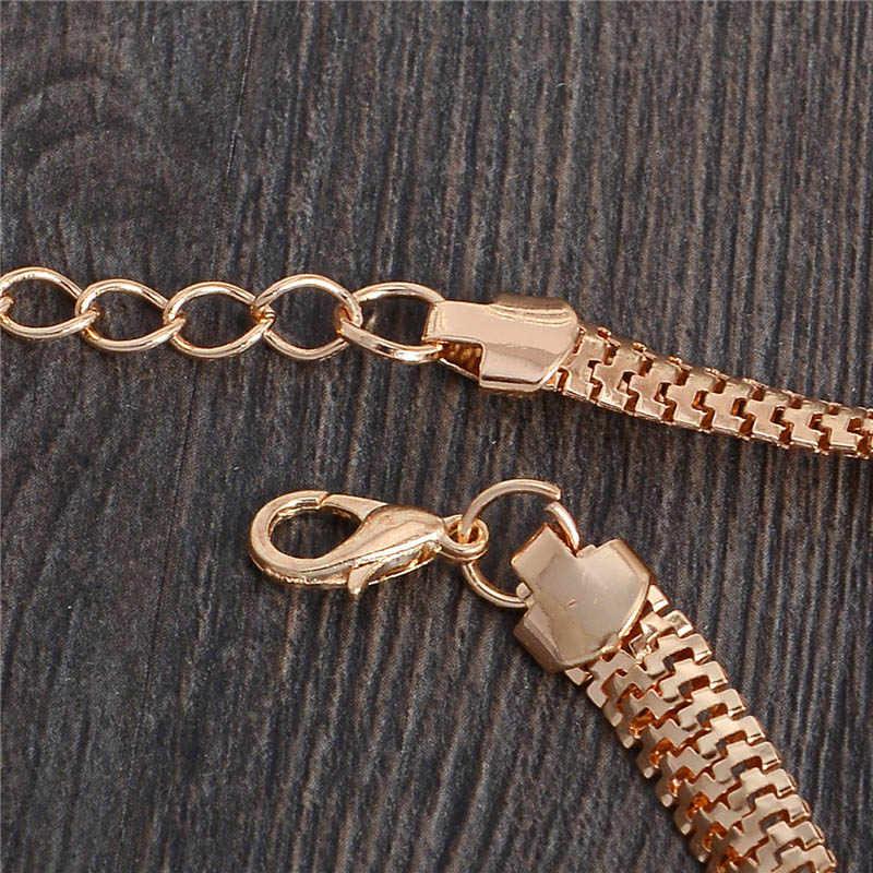MISANANRYNE คุณภาพสูงใหม่สีทองที่ไม่ซ้ำกันคริสตัลออสเตรียสวยแมวตาผู้หญิงสร้อยข้อมือขายส่ง Drop Shipping
