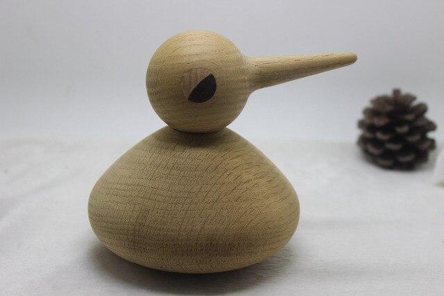 Новое поступление 1 шт./супер мило деревянные корабли Дания дизайн животные куклы дуб дерево птица 3 размеры для вашего выбор