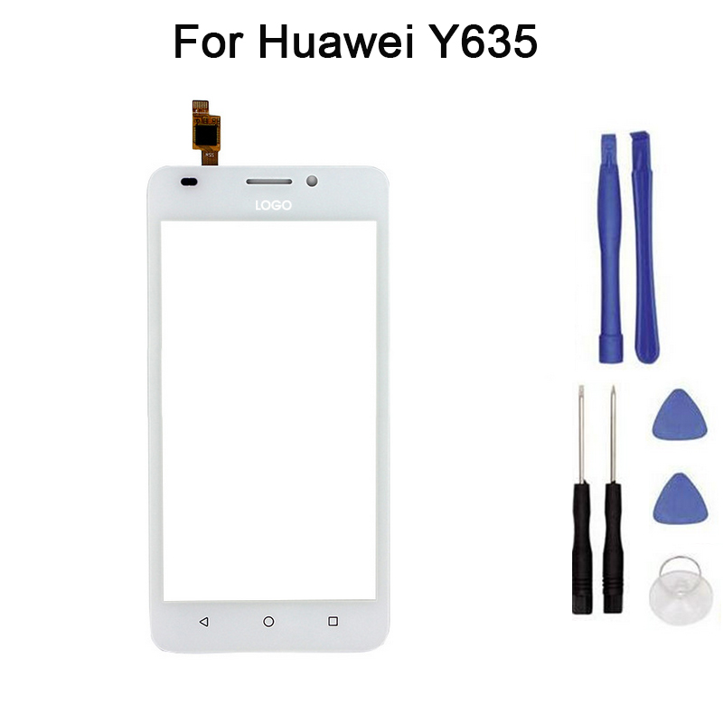New Touch screen For Huawei Y635 Y635-L21 touch Screen Digitizer Front Glass Touch Panel Replacement+tool