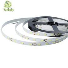 Tanbaby tira llevada 5630/5730 SMD fleixble Led stripe no impermeable 5 M con 300 Led DC12V blanco / blanco cálido decoración interior iluminación