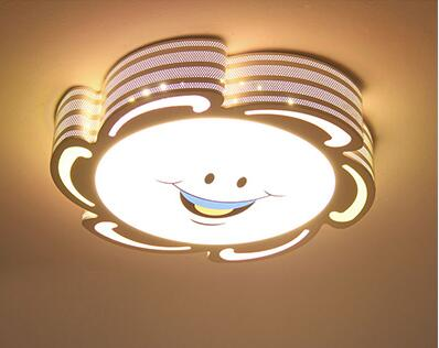 Children lamp childrens bedroom cartoon ceiling Sun Flower Moon rabbit male girl room remote control lamp ET24