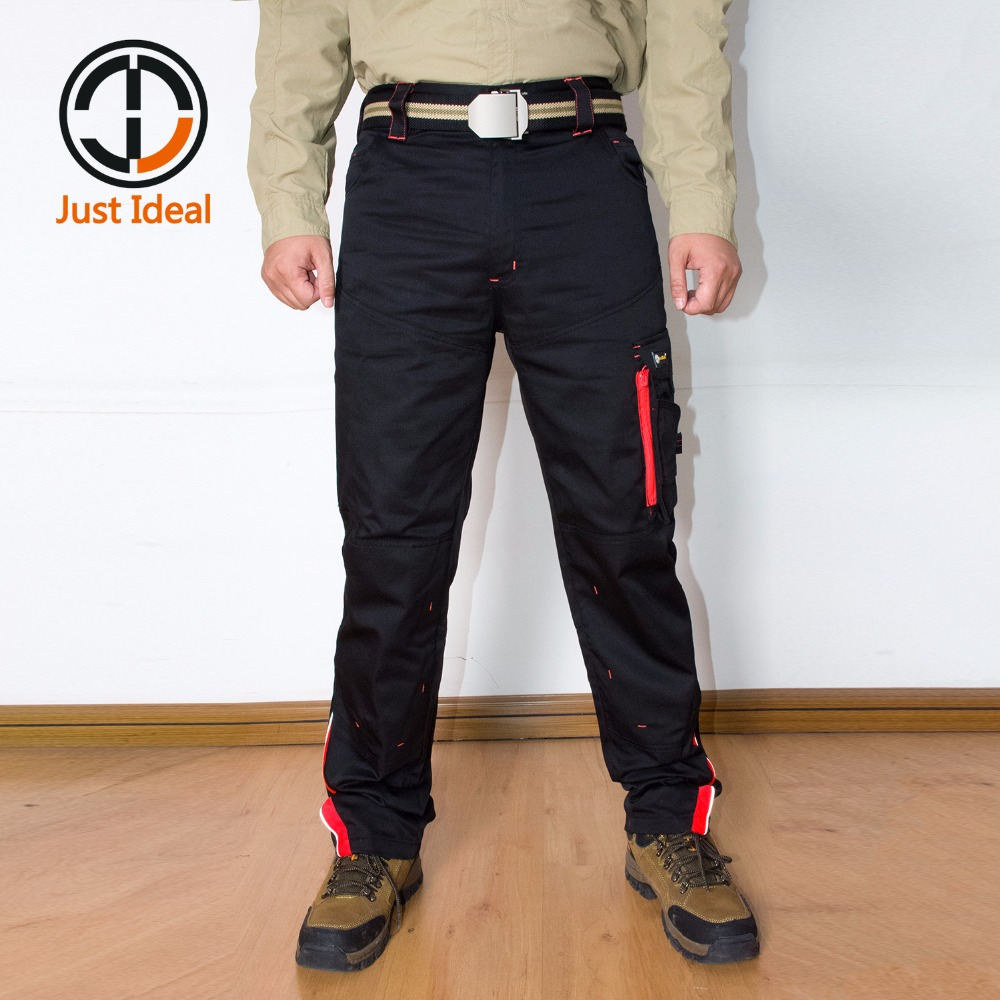46-60 Plus Size Men Cargo Pant Casual Working Pants High Quality Multiple Pocket Military Style Long Trouser For Men ID664