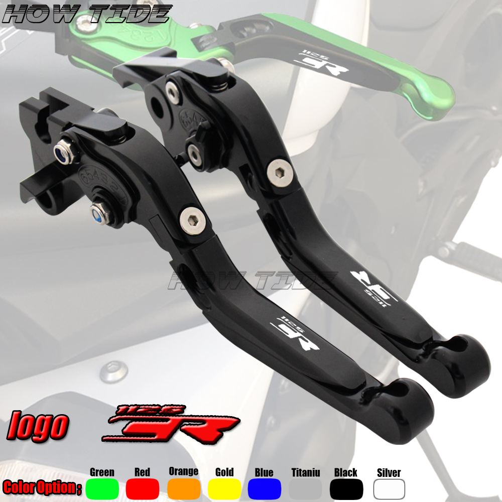 High Quality Motorcycle Folding Extendable CNC Adjustable Clutch Brake Levers For <font><b>Buell</b></font> <font><b>1125CR</b></font> 2009 image