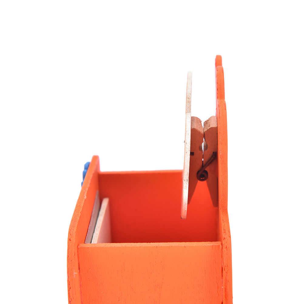 Kawaii Мультифункциональный Деревянный Ручка для дизайна ногтей в домашних условиях держатель ручки подставка карандаши для новых офисных принадлежностей канцелярские настольные аксессуары