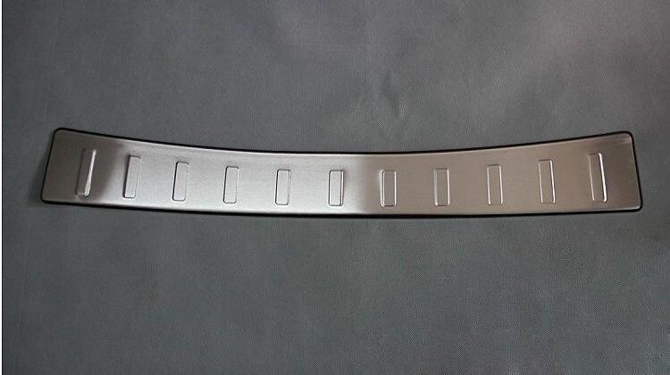 Acier inoxydable Pare-chocs Arrière Protecteur de Seuil de Porte de Plat D'usure Trim Fit Pour Toyota Verso 2011 2012