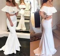 Комплект из двух предметов платье подружки невесты в стиле русалки