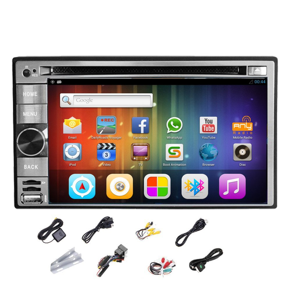 Android 4 2 Car GPS Stereo font b Radio b font DVD MP3 Player 2 DIN