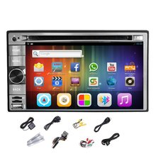"Android 4.2 Stereo Radio DVD GPS Del Coche Reproductor de MP3 2 DIN 6.2 ""Capacitiva Pantalla táctil PC Del Coche Audio WiFi 2-CPU ipod BT TV RDS USB"
