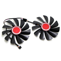 95MM FDC10U12S9 C Cooler Fan Replace For XFX AMD Radeon RX 560D 570 580 RX590 RX580 RX560D Graphics Card Cooling Fan