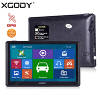 XGODY E80F 7 Inch Car Truck GPS Navigation 256M 16GB Capacitive Screen FM Navigator Russia Navitel