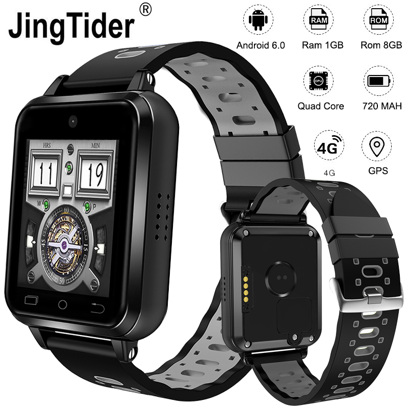 Nouveau Q1 Pro 4G Android montre intelligente MTK6737 Quad Core 720 MaH batterie 1 GB/8 GB 1.54
