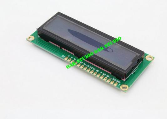 5pcs/lot New Character LCD Module Display LCM 1602 LCD1602 16X2 HD44780 Blue Blacklight