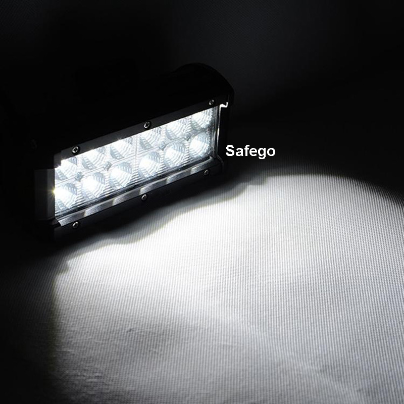 1x7 inch 36 W 3030 LED Light Bar untuk Truk Trailer 4WD SUV ATV - Lampu mobil - Foto 6