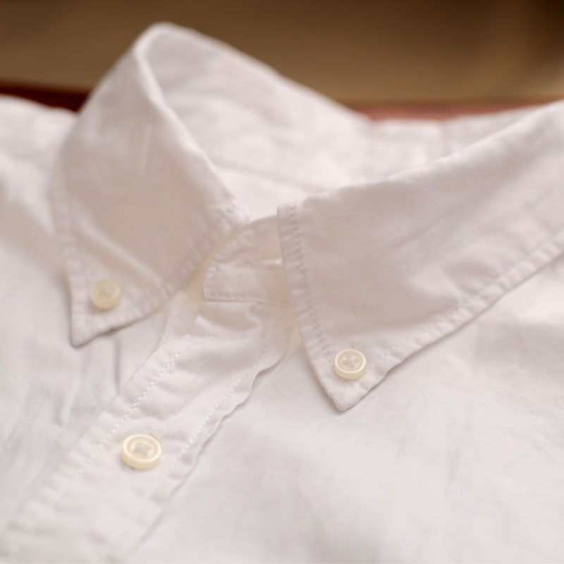 2015 Fashion 100% cotton Oxford cloth Good Quality white shirt ...