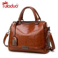 New Fashion Handbags PU Leather Women Rivet Bags Casual Tote Ladies Bag Crossbody Bags For Women
