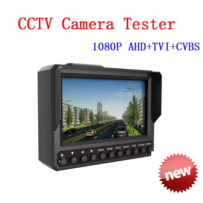 4.3 inch TFT LCD MONITOR COLOR 1080P Three in One Function 1080P AHD/TVI/CVBS CAMERA TESTER Free shipping