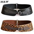 2017 New Pure Cow Leather Ceinture Luxury Wide Waistband Radian Horsehair Personal Large Size Ladies Leather Belt Wholesale
