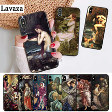 цена на Lavaza Art Paintings The Birth Of Venus Silicone Case for iPhone 5 5S 6 6S Plus 7 8 11 Pro X XS Max XR