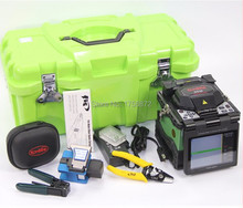 Komshine GX36 Optical Fiber Fusion Splicer Kit With Fiber Optic Cleaver Core-Core Alignement Fiber Splicer