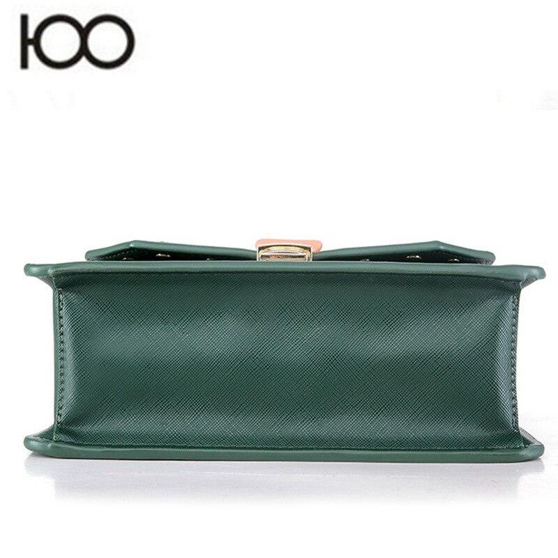 Hansomfy | Вышивка сумка Винтаж из искусственной кожи crossshoulder Повседневное знакомства Для женщин сумка - 5