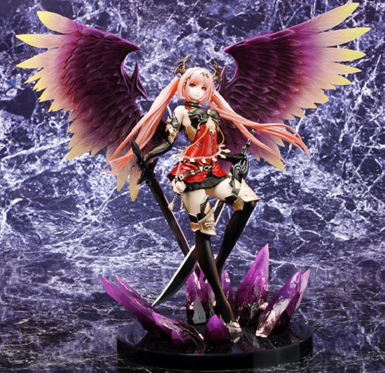 28cm Rage Of Bahamut Dark Angel Olivia Ani Statue Sexy Action Figure PVC Collection Model toys brinquedos for christmas gift28cm Rage Of Bahamut Dark Angel Olivia Ani Statue Sexy Action Figure PVC Collection Model toys brinquedos for christmas gift