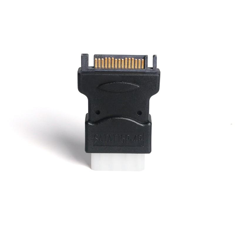 ULT-Best 2-polni 15-pinski Sata serijski ATA moški do Molex IDE - Računalniški kabli in priključki - Fotografija 5