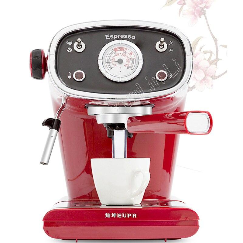 High Pressure Steam Milk Coffee Machine Semi Automatic Italian 15bar Vintage Tsk 1163a In Makers From Home Liances