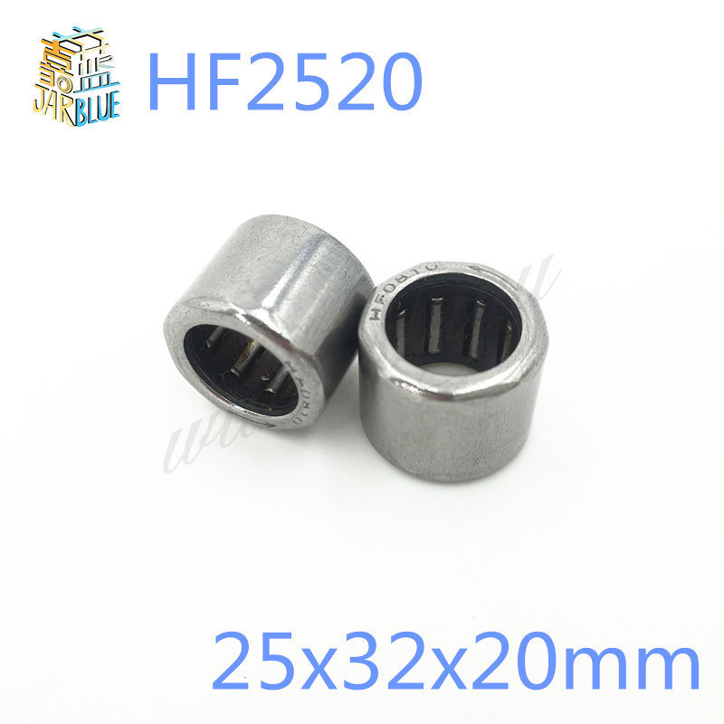 10pcs Free Shipping HF2520 25x32x20mm HF253220 One-way cluth needle roller bearing Needle Bearing free shipping big roller reinforced one way bearing starter spraq clutch for kawasaki prairie kvf400 1997 2002