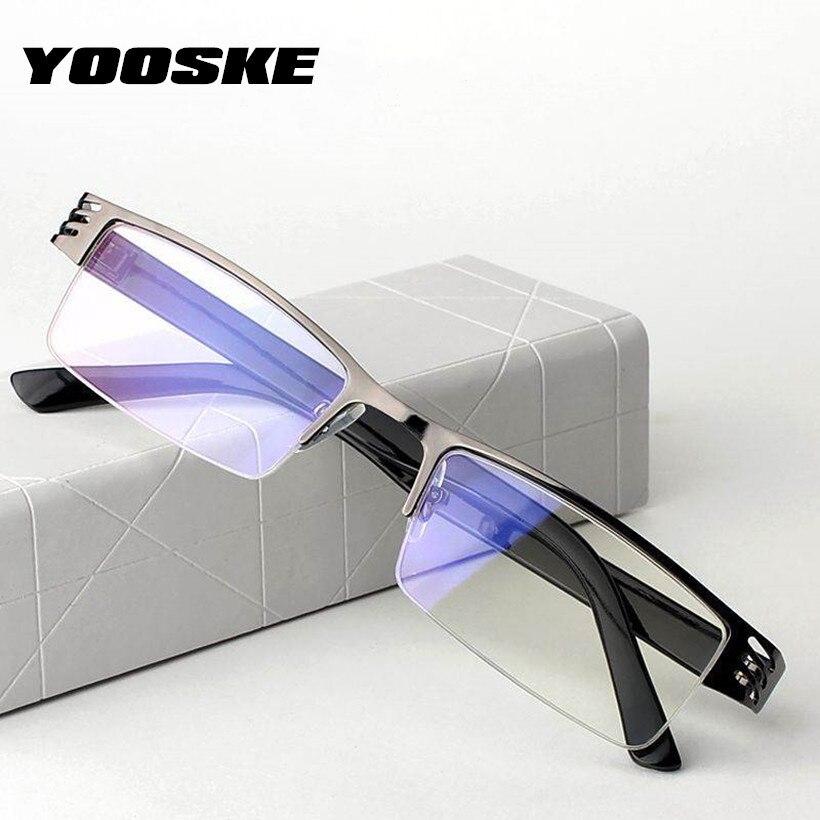 770105e740 YOOSKE gafas de lectura de las mujeres de los hombres película Azul resina  anteojos recetados + 1,00, 1,50, 2,00, 2,50, 3,00, 3,50, 4,00 dioptrías