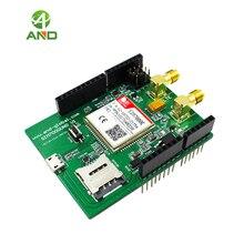 Sim7000e kit para arduino uno, emtc nb iot shield placa de desenvolvimento 1 conjunto