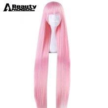 39a2b27eb885 ANOGOL красоты волос Кепки + DARLING в FRANXX ноль два 02 Длинные Природный  прямой розовый синтетический
