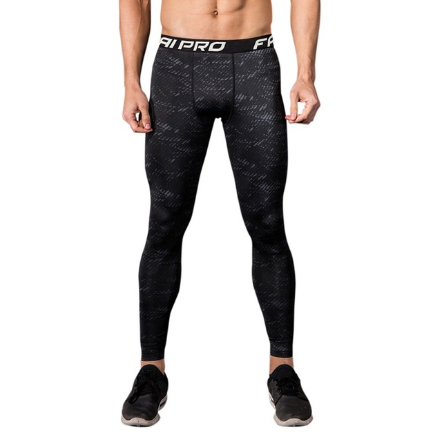 6977073e5a1e8 2018 Men Compression Tight Long Pants Black Trousers Men Joggers Running  Trousers Slim Fit Mallas Fitness Pants wholesale
