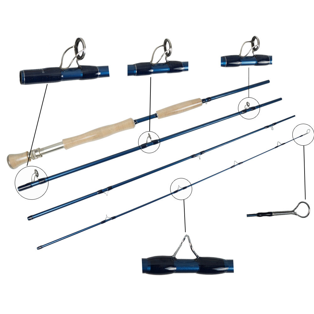 Aventik IM10 9FT LW7-10 Light Weight Saltwater Fly Fishing Rods Tip Fast Action