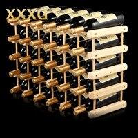 Xxxg//diyクリエイティブ折りたたみワインラック木製ワインビールボトルラック主催ホル