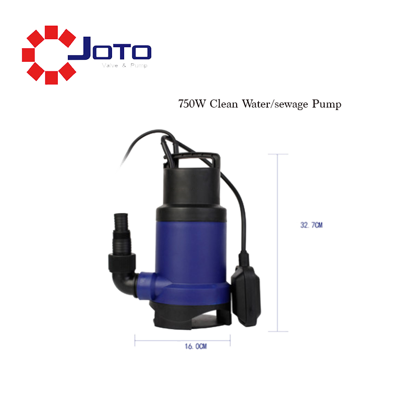 Multi function Closed Waterproof Motor Wear Resistant Submersible Clean Water Sewage Water Pump Agricultural Centrifugal Pump