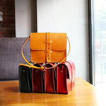 IFANGZHE Women Genuine Leather Bag, Mini Fashion and Classic Cowhide Small  Womens Crossbody Bag Retro Style