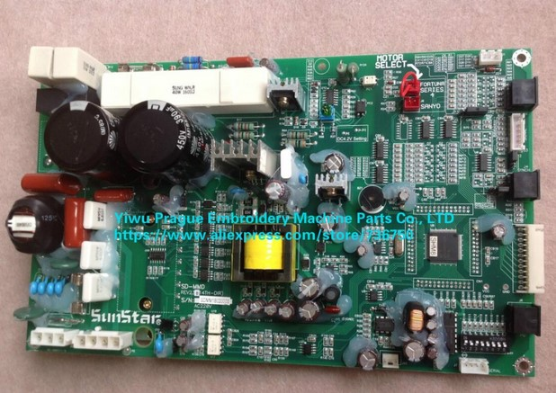 US $920 0 |BD 000311 Genuine SWF Main Driver SD MMD Motor Control Board  Sunstar embroidery machine spare parts offer by store 736750-in Sewing  Tools &