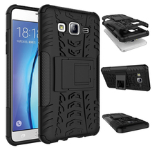 Tire Tough Hard Stand Armor Case For Samsung Galaxy Note 5 J1 Ace mini J2 J3 Pro J3 J4 J5 J6 J7 J8 Duo 2016 A6 Plus 2018 On5 On7