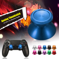 Universal Joystick Metal Aluminum Alloy Mushroom Cap Analog Thumbstick For Xbox One For PS4 For Dualshock 4 Controller Parts Key