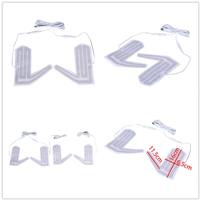 1 Paar 5 V Winter Outdoor Thermische Warme Handschuhe Heizung Für Schuhe Handschuhe Pad Handschuhe Erhitzt Pads Elektrische Heizung Element Attraktive Designs;