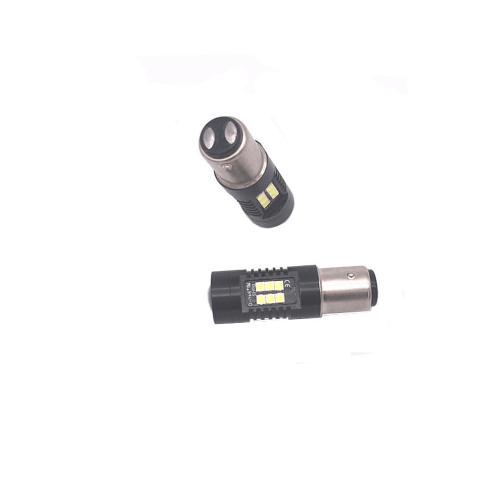 2Pcs 1157 BAY15D Led Bulb P21 5W 21 3030SMD Auto Leds Bulbs Brake Tail Lamp Car