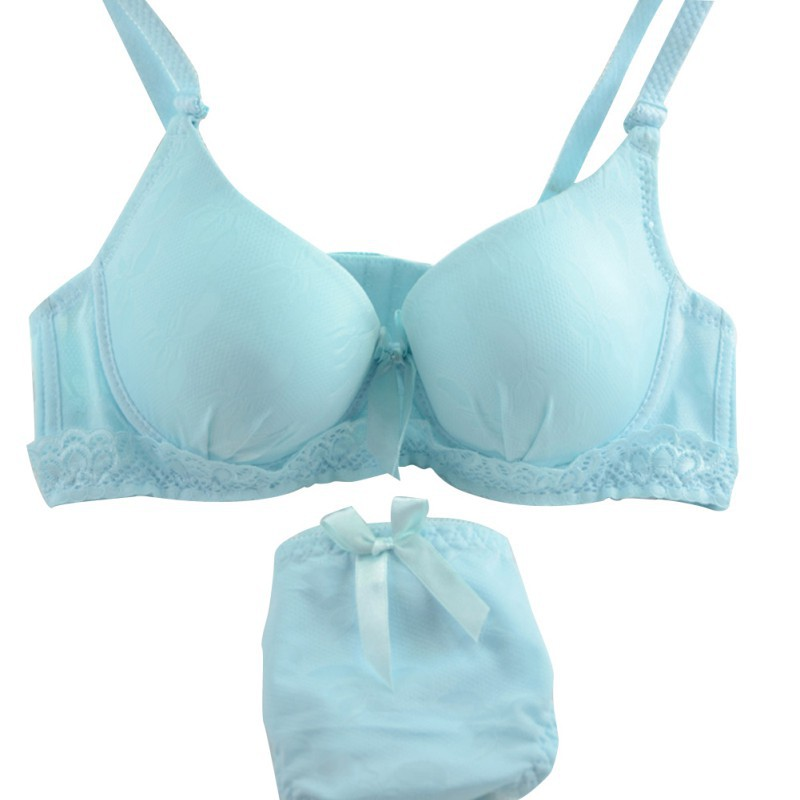 Ladies Solid Candy Color Sexy Lace   Bra     Brief     Sets   Underwire   Bra     Set   Push Up   Bra   Suit Lace Lace Floral Padded Underwear