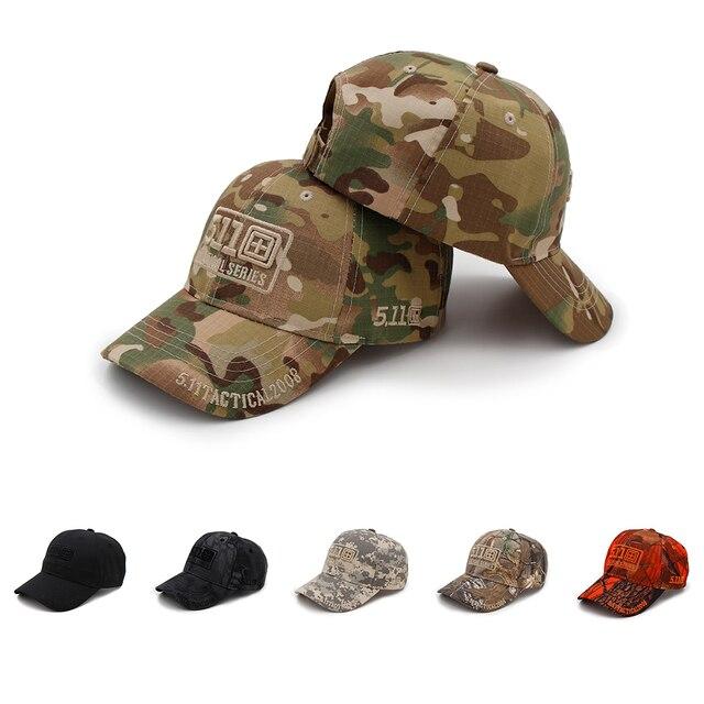 adba3e22bbd29 Gorra de béisbol de camuflaje del ejército de KOEP 511 gorras tácticas al  aire libre respirable